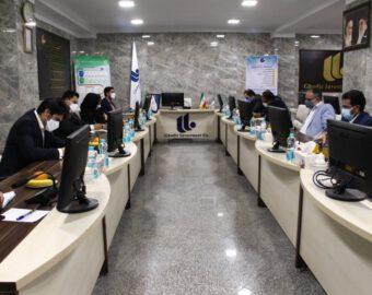 جلسه هم اندیشی مدیرعامل گروه مالی غدیر با مدیران عامل شرکت های تابعه